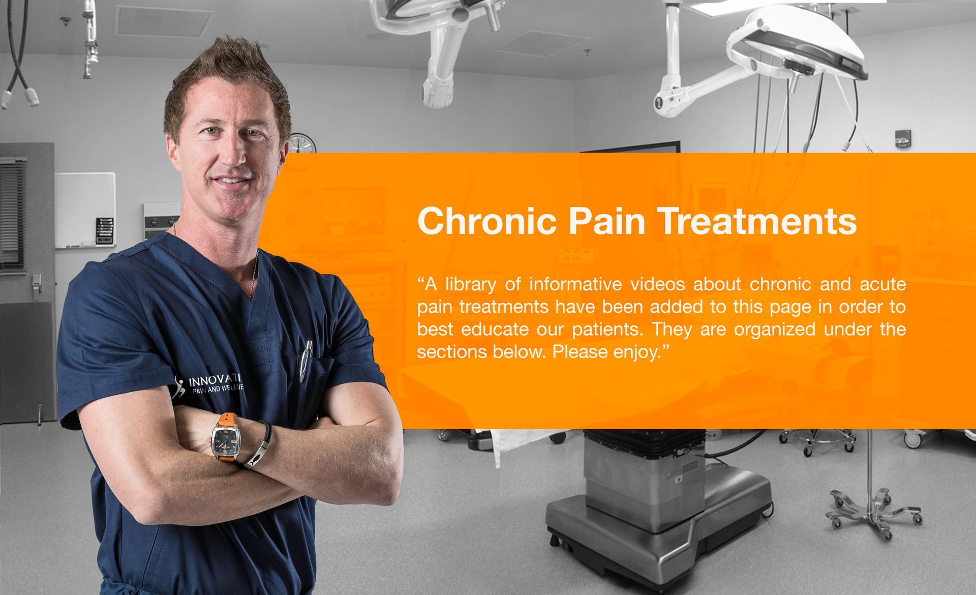Chronic pain treatments