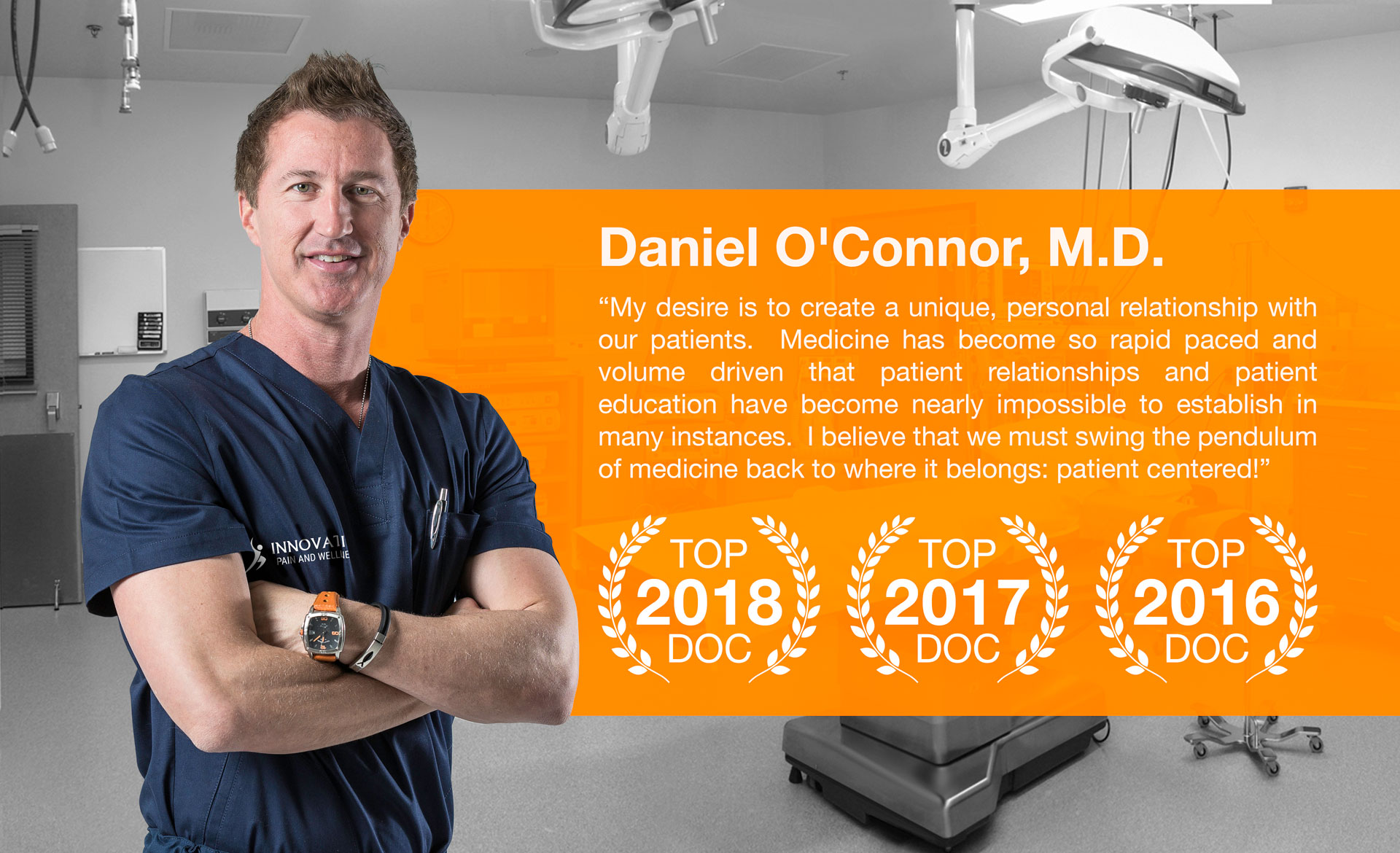 Scottsdale Pain Management Doctor Daniel O'Connor
