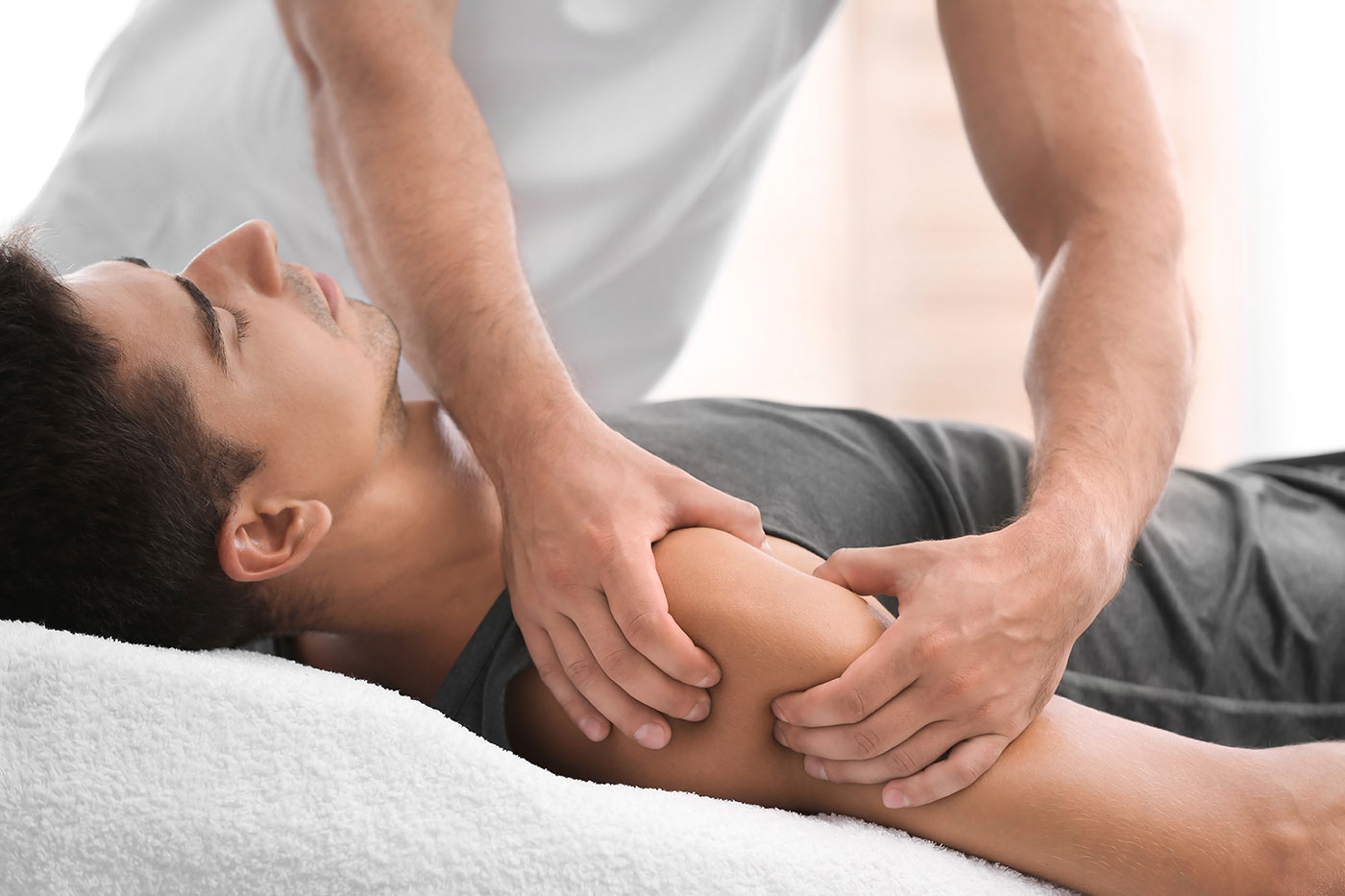 Physical Therapy Adjustment: Manual Technique to Strengthen and Heal